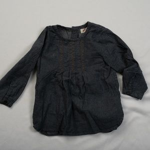 Ketiketa baby girl dark blue top